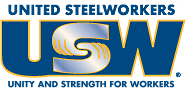 United Steel Workers Local 1-417. Unity and Strength for Workers.